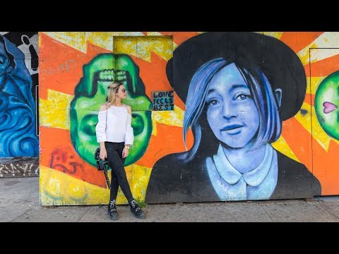 Street Photography and Street Art in Venice Beach