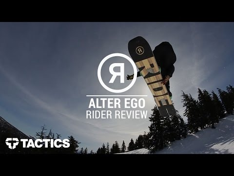 Ride Alter Ego 2017 Snowboard - Wear Test & Review   Tactics