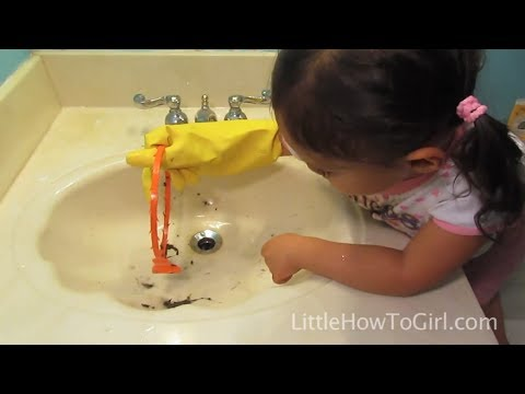 How To Clear A Clogged Sink (Episode 12)