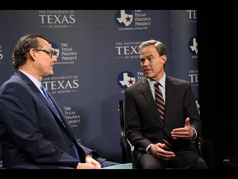 A Conversation with Rep. Joe Straus, Speaker of the Texas House of Representatives
