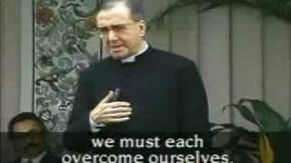 St Josemaria Escriva Answers Questions in Caracas, Venezuela (Part 2 of 4)