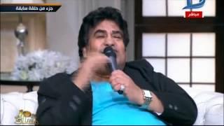 حلمي بكر لأحمد عدوية: ''اعتزل كفاية كده''.. وزوجة الأخير تبكي