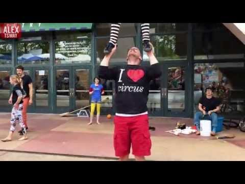 Amazing Street Circus in Seattle - Part 2