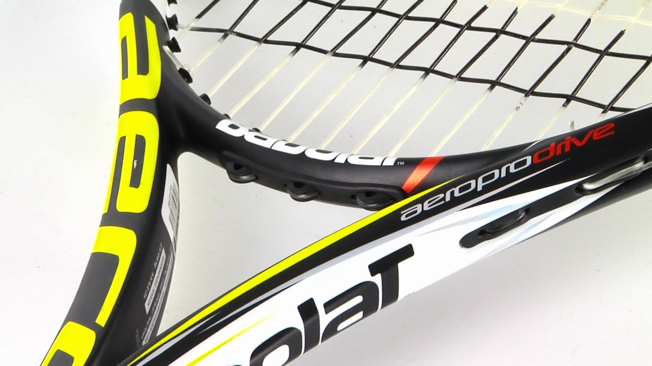 rafael nadal 39 s 2013 babolat aeropro drive racket review youtube. Black Bedroom Furniture Sets. Home Design Ideas