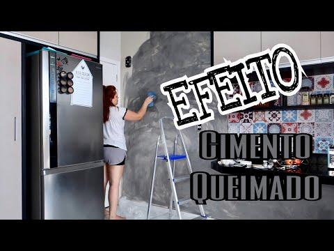EFEITO CIMENTO QUEIMADO BARATINHO