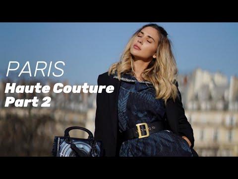 Paris Couture Week PART 2 - Ann-Kathrin Götze