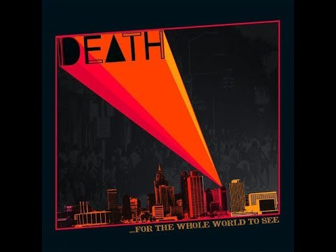 Death, For The Whole World To See 1975 (vinyl record)