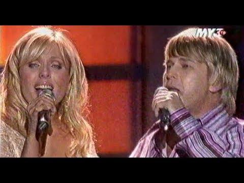 Алексей Глызин и Юлия Началова - Остановись ночь (Песня года 2005 Отборочный Тур)