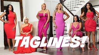 FINALLY! Real Housewives of Atlanta Season 10 Taglines Revealed!