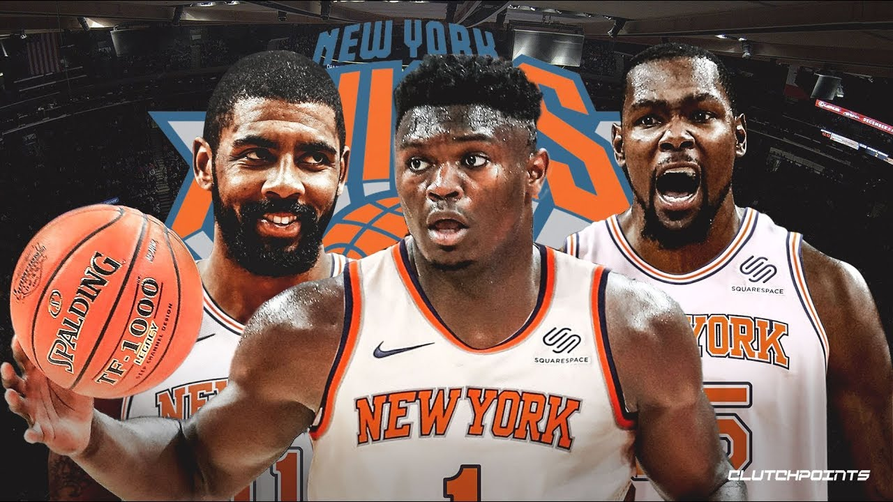 buy popular 22ed3 b41e9 Zion Williamson to Knicks? Brandon 'Scoop B' Robinson Weighs in on WGN