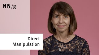 Direct Manipulation in User Interfaces