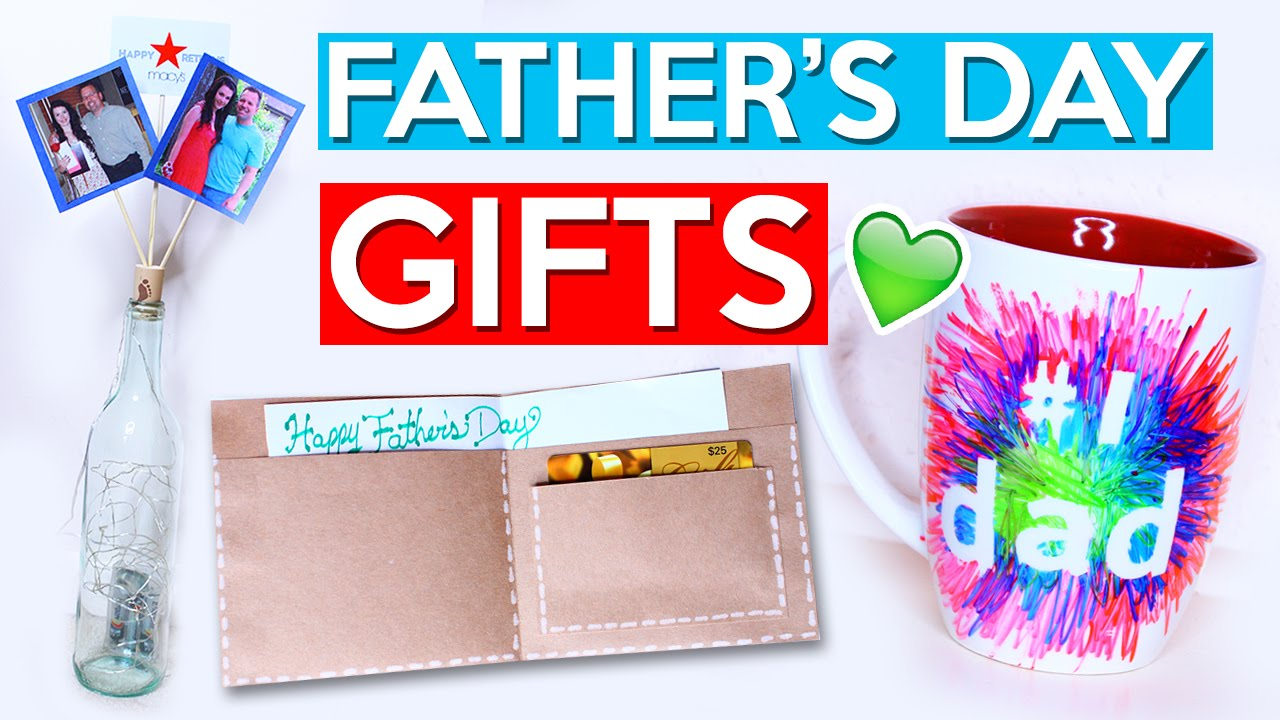 Fathers Day 2017 Gifts Part - 23: DIY Fatheru0027s Day GIFT IDEAS! - YouTube
