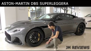 Aston Martin DBS Superleggera 2019 - O Primeiro no País! - JM Reviews 2018