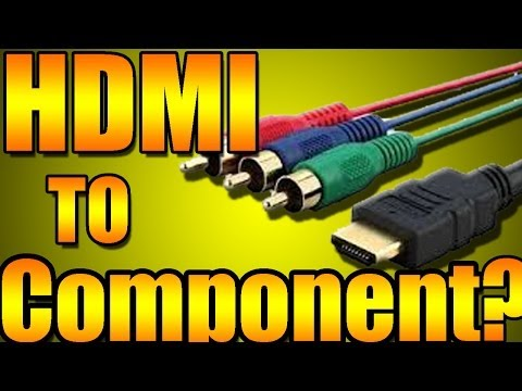HDMI Cable To Component Cable Fake?! Must Watch!