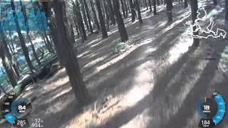 1st lap 2015 Ginja Ninja Kinross State Forest