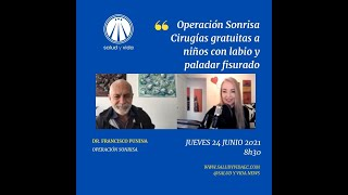 ENT Francisco Punina, Operación Sonrisa. Cirugías gratuitas a niños con labio y paladar fisurado