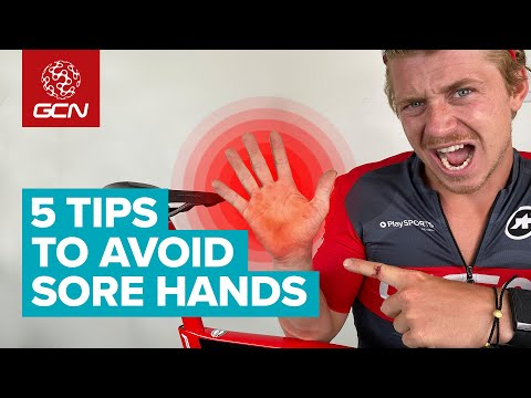5 Tips To Help Cyclists Prevent Sore Or Numb Hands