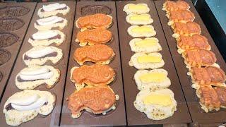 japanese street food - TAIYAKI 鯛焼き
