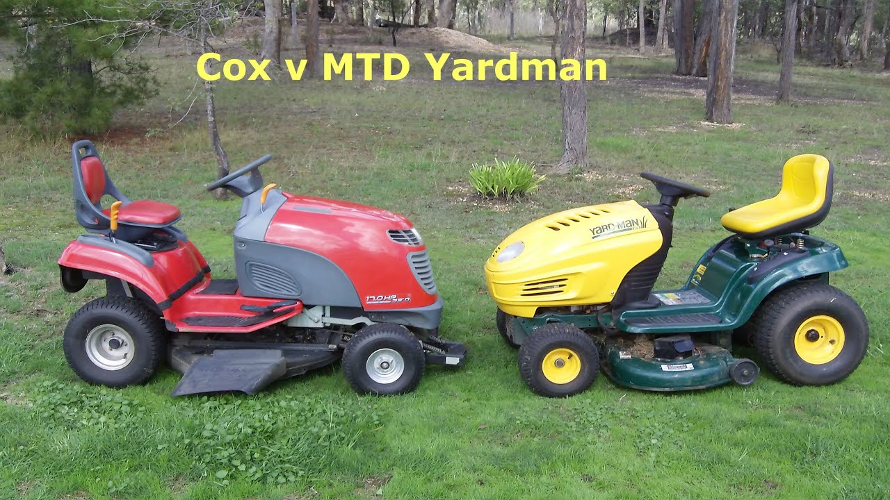 Ride On Mtd Yardman Things Mum Never Told Me Youtube