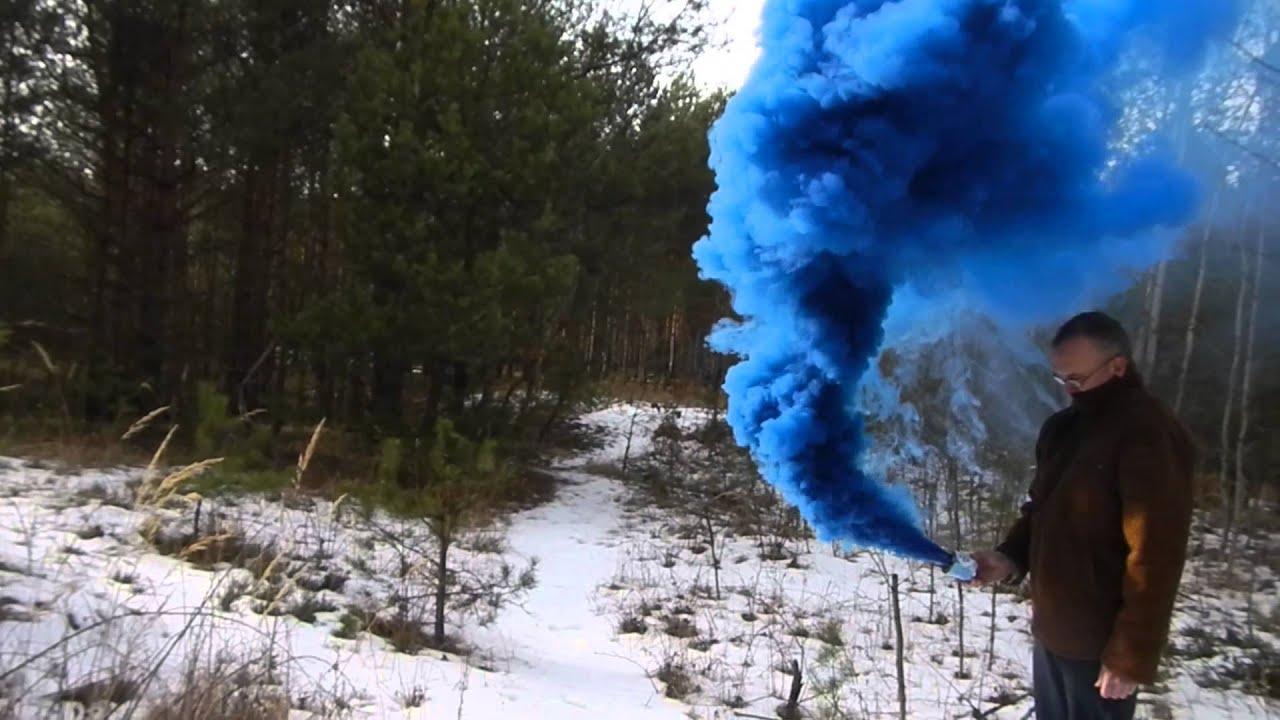 Blue Smoke Bomb (typ Fe/90/Zt-B) - YouTube
