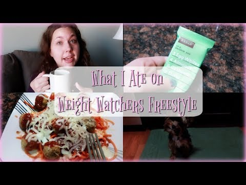 What I Ate On Weight Watchers Freestyle | Housewife Day In The Life |