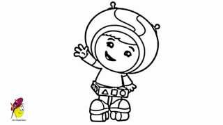 How to draw Team Umizoomi - Geo