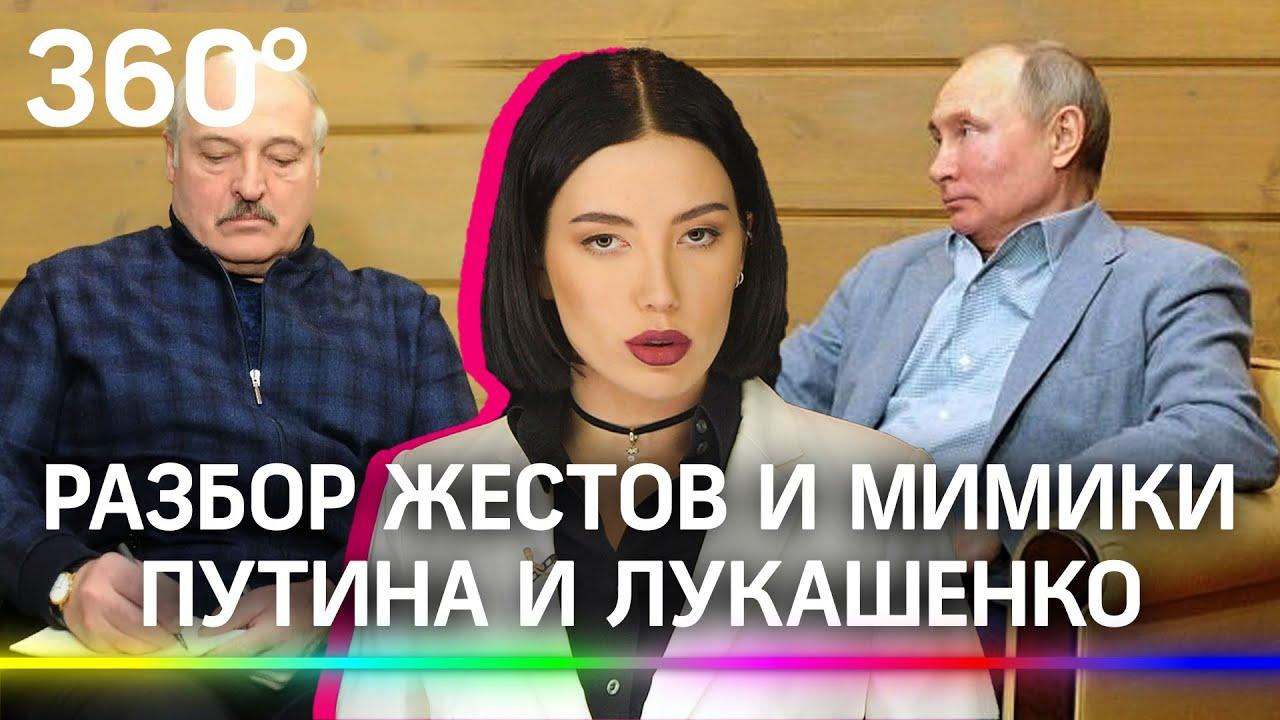 Разбор встречи Путина и Лукашенко в Сочи. О чем говорят жесты и мимика?
