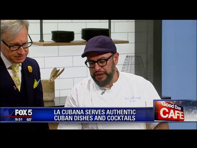 La Cubana & Chef Carl on Good Day New York- September 17, 2019