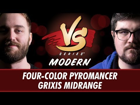 3/20/2018 - Ross Merriam Vs. Brad Nelson: Four-Color Pyromancer Vs. Grixis Midrange [Modern]
