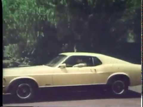 1970 Ford Mustang Mach 1 Commercial - Carscoops