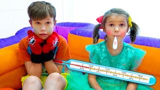 Фото Макс и Катя притворились что заболели