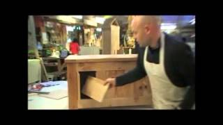 How To Make A Cabinet With Secret Compartments_furniture Student_chippendale School Of Furniture.wmv
