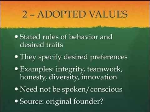 Edgar Scheins model of organisational culture | Organizational Behavior