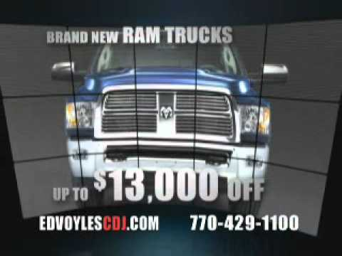 ed voyles chrysler dodge jeep ram november 2010 commercial youtube. Black Bedroom Furniture Sets. Home Design Ideas