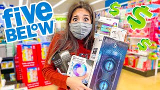 FIVE BELOW CHRISTMAS SHOPPING CHALLENGE!!! (Under $50)