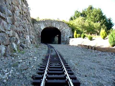 Drivers eye view on my 5″ garden railway