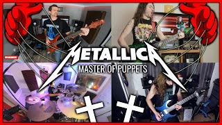 🤘 MASTER OF PUPPETS 🤘 Full Album, Full Band Playthrough (35th Anniversary Special)