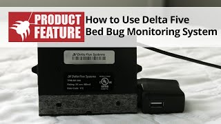Delta Five Bed Bug Monitor System