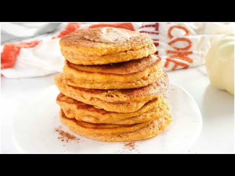 Pumpkin Pancakes | healthy paleo recipes