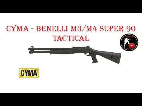 [ОБЗОР] CYMA - BENELLI М3/M4 SUPER 90 TACTICAL CM370M airsoft (страйкбол)