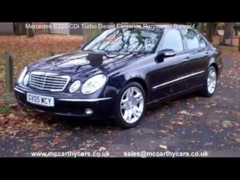Used mercedes e320 cdi elegance panoramic sunroof gv05 for for Mccarthy mercedes benz