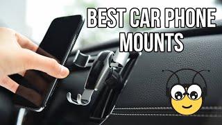 TOP 5: Best Car Phone Mounts - Tech Bee 🐝