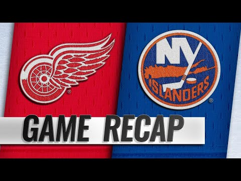 Barzal, Isles push past Red Wings in the shootout