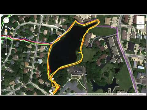 Using GPS Track Overlays to Map Trails in MapMaker