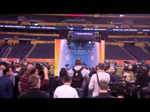 Super Bowl XLVI Media Day