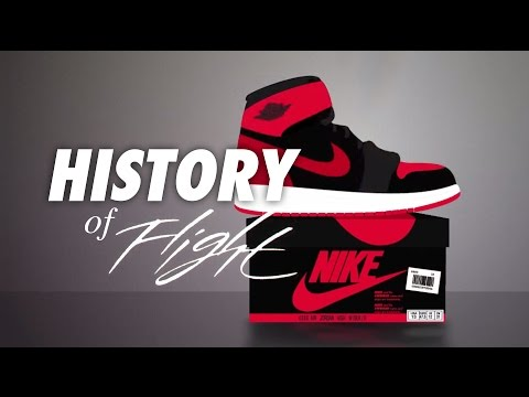 A History Of Flight - Animated History of Air Jordan 1984-2015