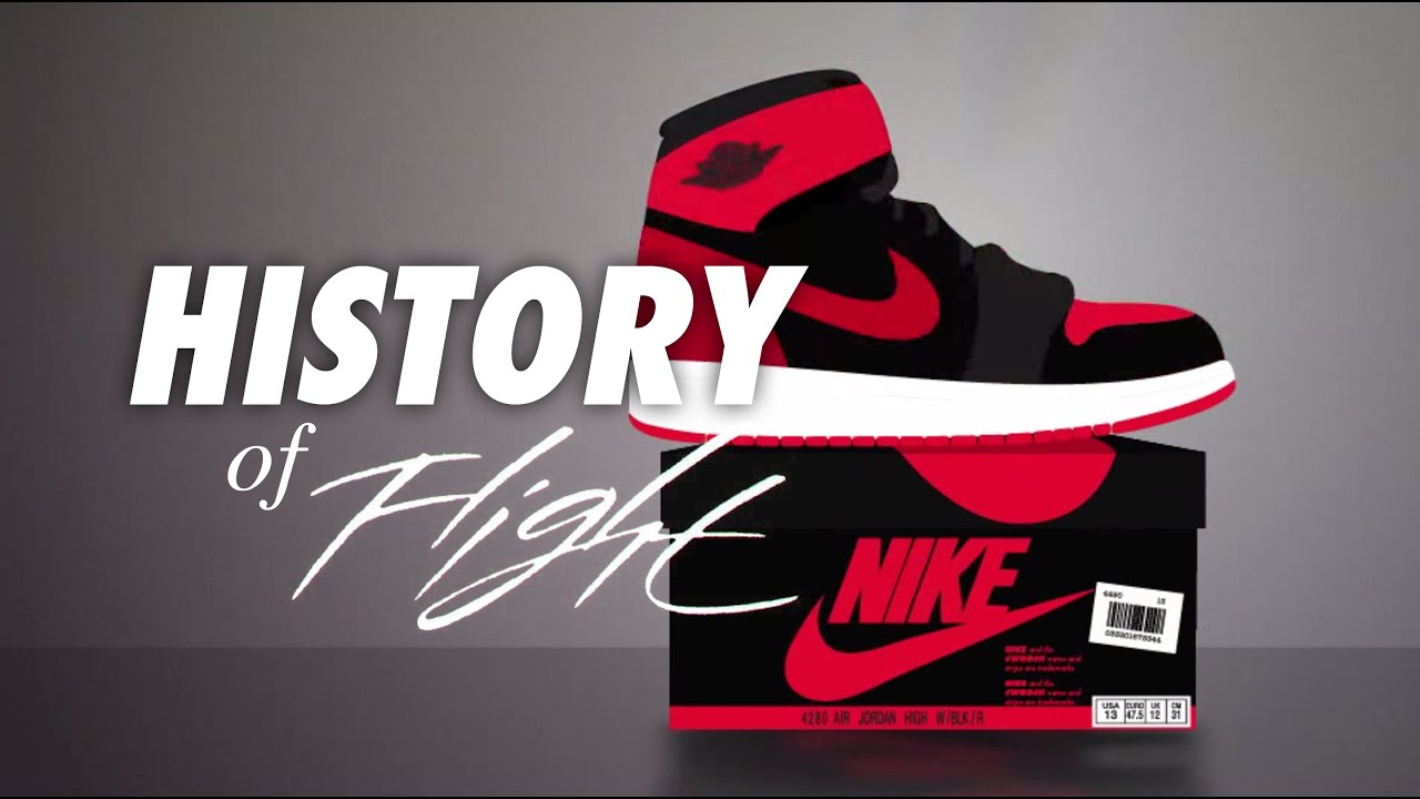 c31968af0ae9 A History Of Flight - Animated History of Air Jordan 1984-2015 - YouTube