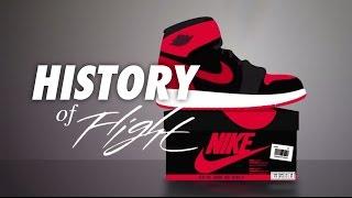 A History Of Flight - Animated History of Air Jordan 1984-2015