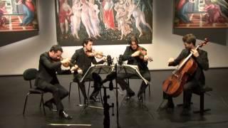 Quatuor Ebène : Bela Bartok  String quartet Nr. 4 C-major Sz 91