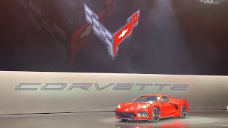 CHEVROLET INTRODUCES FIRST-EVER MID-ENGINE CORVETTE - LIVE!! 2020 Corvette Stingray